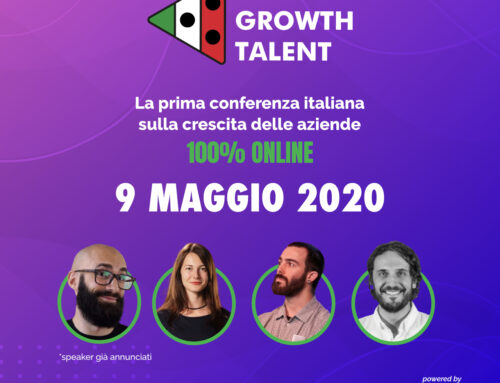 Italia's Growth Talent: 9 Maggio 2020